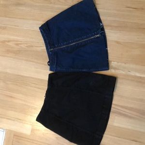 Free People skirt bundle